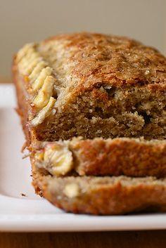 Banana Bread | Annie's Eats (fav banana bread recipe, I don'tput sliced banana on top though, love her blog)