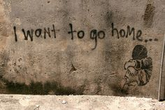 I WANT TO GO HOME... by szen_volta, via Flickr