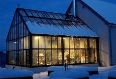 Garden & Greenhouse - Vägganslutet växthus/orangeri. BC Greenhouse.