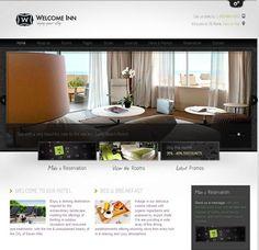 Welcome Inn Hotel Spa Restaurants Wordpress Theme
