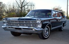 This 1967 Ford Country Sedan is a very original and well documented 65k-mile example that stayed within the original owner's family for more than 40 years. It is powered by a 289 V8 with optional LSD and power front disc brakes, and has benefitted from a  recent major service.
