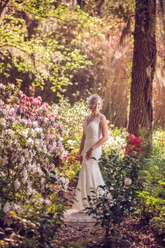 An incredible Southern garden wedding in Charleston by Richard Bell Photography    see more on artfullywed.com
