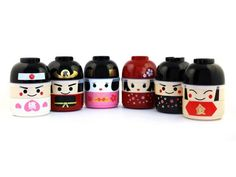Maikois on her way to becoming a major Geisha. Unlike her older sister Kokeshi Bento Geiko, she still wears this cute pink kimono and her maiko headdress. ProductDescription The Kokeshi Bento consists of 2 parts:- 2 stacking compartments. The upper compartment has a domed, leak-resistant inner lid.- An inverted bowl that's also a cute hat or headpiece for the kokeshi doll. If you get more than one Kokeshi Bento, you can mix up the components to create your very own kokeshi! An elasti...