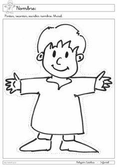 Recursos Religion Católica: Fichas Infantil 5 años