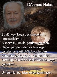 #tasavvuf#ahmedhulusi Sufi, Consciousness, Islam, Movies, Movie Posters, Knowledge, Film Poster, Films, Popcorn Posters