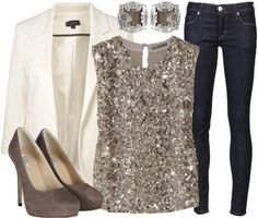 Perfect for a holiday party...but why save sparkle for special occasions?!?!