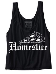 Homeslice Tank: http://shop.nylonmag.com/collections/whats-new/products/home-slice-tank #NYLONshop