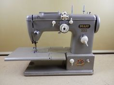 Vintage Pfaff 332 Sewing Machine Heavy Duty A-0395 Motor - PARTS or REPAIR #Pfaff