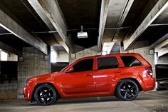 2007 jeep grand cherokee srt8 red - Google Search