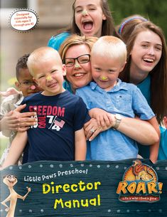Preschool Director Manual - Roar VBS by Group