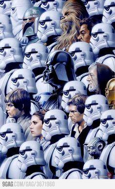 Star Wars Art Poster.