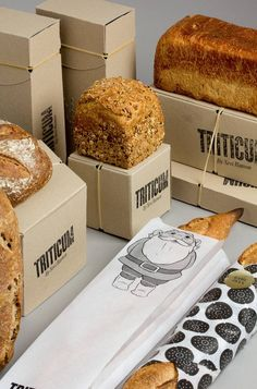 TRITICUM Bread packaging (Identity, Packaging) by Lo Siento Studio, Barcelona