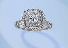 62 Diamond Engagement Rings Under $5,000: Weddings: glamour.com
