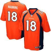 Youth Denver Broncos Peyton Manning Nike Orange Team Color Game Jersey