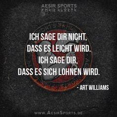 Der Weg ist das Ziel (und dieser Weg ist voller Hindernisse) - doch es lohnt sich, oder? - Aesir Sports & www.AesirSports.de