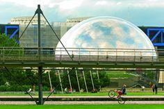 Paris. Parc de la Villette