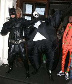 HAHA: Liam Payne and Tom Daley out as Batman and erm, Fat Man? | Sugarscape |