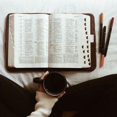 coffee + jesus God bible scripture bible journaling favorite verses