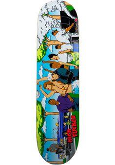 Primitive-Skateboards Tucker-BBQ, Deck, multicolored Titus Titus Skateshop #Deck #Skateboard #titus #titusskateshop