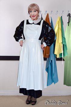 Maid Dress, Plastic, Lady, Blouse, Clothes, Dresses, Fashion, Apron, Living Room