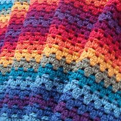Granny Stripe. I love the way the colors change over with no jarring contrasts right together. -LW