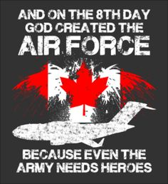 ROYAL CANADIAN AIR FORCE ARE HEROES - Fabrily