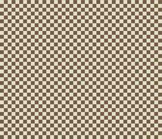 Sarah Wilson Brown Checks fabric by lana_gordon_rast_ on Spoonflower - custom fabric  This a copyright protected fabric design, by Lana Gordon Rast