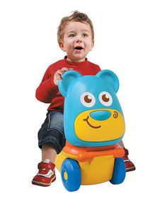 Look what I found on #zulily! Bear Stow 'n' Go Kart by B Kids #zulilyfinds