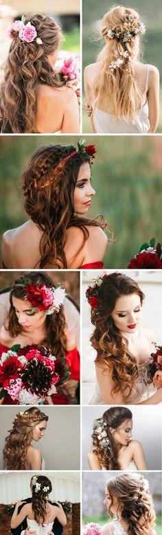 113 Besten Blumen Im Haar Bilder Auf Pinterest Faces Beautiful