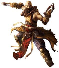 Diablo Iii Monk Render By Mike Rheinland Pfalz Crussong
