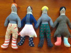 Handmade dolls by Hillery Rebeka Sproat