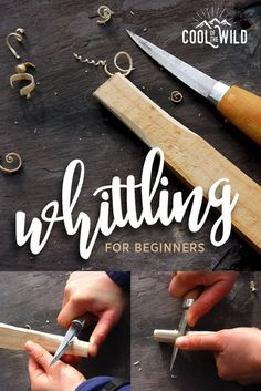 Learn the age old art of wood carving with our beginners guide to whittling.