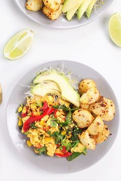 Simple Tofu Scramble - Vegan, Gluten Free, Protein Packed and simple to make. #vegan #glutenfree #tofu #tofuscramble #healthy #foodporn #recipes
