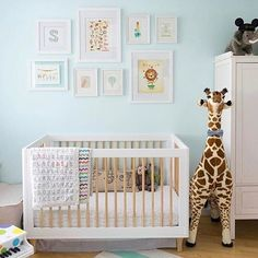 How Gorgeous Is This Bright Playful Nursery Design By Casadefallon Aqua