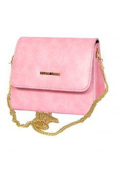 c8b232864998 SLING BAG IN PINK Casual Wear Women