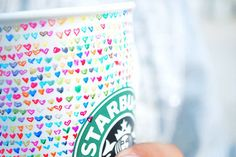 Cute,Hearts,Love,Markers,Sharpies,Starbucks - inspiring picture on PicShip.com