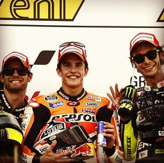 MotoGP of Germany- Sachsenring 2013 Podium :)