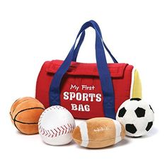 Gund My First Sports Bag Playset >>> For more information, visit image link.