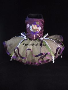 Sugar Plum Fairy Dog Tutu Dress XS _ Halloween _ Fall #KIMSPOSHPETS _ Facebook - Kim's Posh Pets