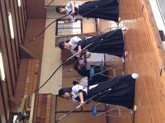 Japanese sport ,kyudo↑