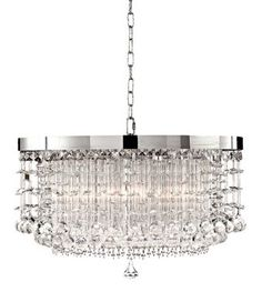 Uttermost Fascination 14-Inch-H Hanging Crystal Pendant - #EUG3405 - Euro Style Lighting