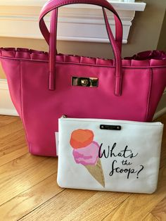 Kate spade Danbury st and Whats the scoop gia