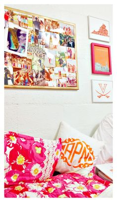 "prepofthesouth: "" dorm room cozy """