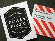 Darden Studio business card