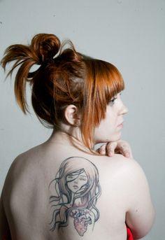 Audrey Kawasaki tattoo. Love that artist, so maybe...