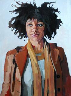 "Erin Fitzpatrick; Painting, ""Intea"""