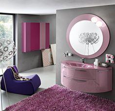 Pink bathroom just for real Pink Ladies