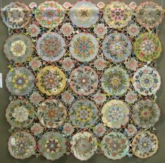 Patchwork masterpieces on display in Japan. Crochet and Quilting Stunning