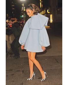 Zendaya at the 'Paper Flowers' Tiffany&Co event, New York Zendaya Outfits, Zendaya Style, Zendaya Dress, Zendaya Clothes, Look Fashion, High Fashion, Womens Fashion, Latest Fashion, Fashion Outfits