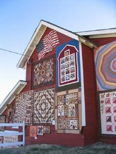 Annual Outdoor Quilt Show Gallery    Buggy Barn   Reardon WA